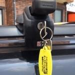 鳥栖市 車のルーフキャリア 鍵製作