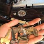 鳥栖市 電動自転車の鍵を鍵が無い状態から作製