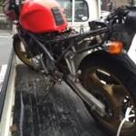 小郡 バイクの鍵が1本も無い状態から鍵製作