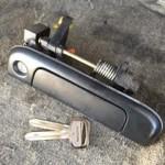 鳥栖 車の鍵が無い状態から鍵製作