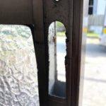 戸の動きの改善 鍵交換