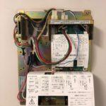 【小郡市 電気錠が動かなくなった。】 落雷で制御盤が死亡→制御盤、オプション基盤、電気錠一式取替え。
