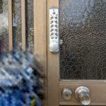 【基山町 暗証番号で開ける鍵に取替えたい】 補助錠として暗証番号錠取り付け