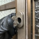 【鳥栖市 玄関の鍵を取替えたい】 使い易く、防犯性の高い鍵に取替え