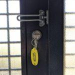 【みやき町 徘徊対策をしたい】 室内側サムターンを鍵に取替え