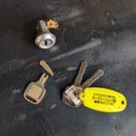 【鳥栖市 鍵が折れてしまった】 折れた鍵からスペア作製