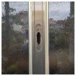 【引き戸の鍵の調子が悪い みやき町】 戸を調整&加工して鍵取替え